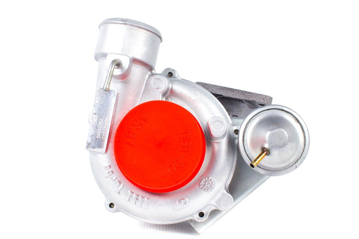 Turbosprężarka z numerem {numerglowny} po regeneracji w najnowocześniejszej pracowni regeneracji turbosprężarek przed wysłaniem do kontrahenta