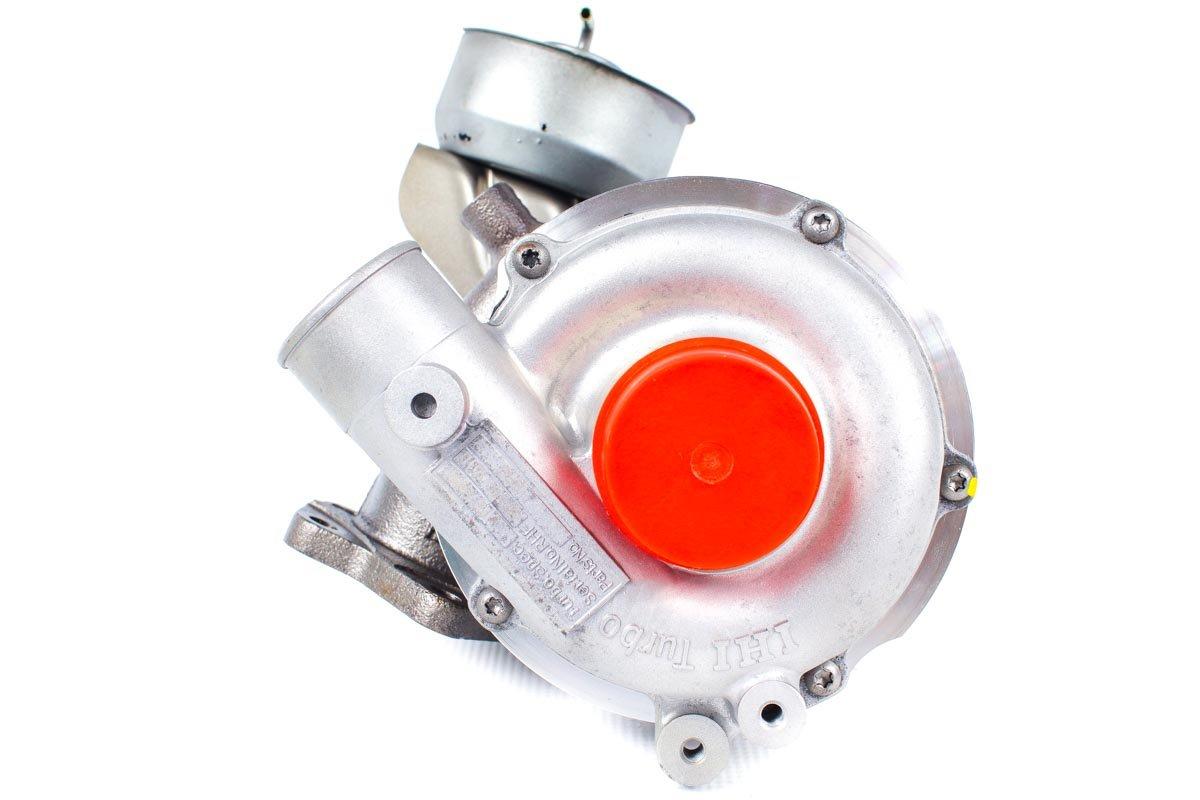 Turbosprężarka z numerem {numerglowny} po regeneracji w najnowocześniejszej pracowni regeneracji turbosprężarek przed odesłaniem do zamawiającej firmy