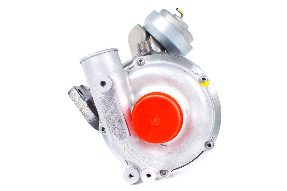 Turbosprężarka z numerem {numerglowny} po regeneracji w najnowocześniejszej pracowni regeneracji turbo przed wysyłką do zamawiającej firmy