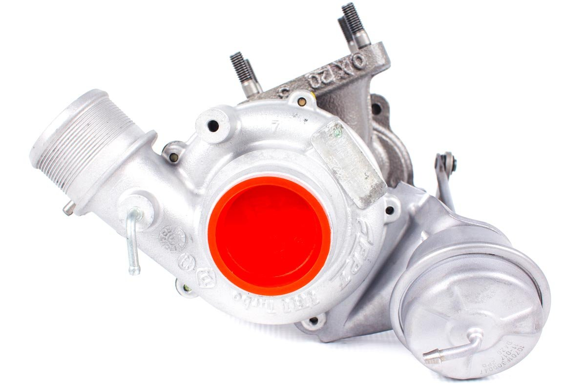 Turbosprężarka z numerem {numerglowny} po regeneracji w najnowocześniejszej pracowni regeneracji turbo przed odesłaniem do Klienta