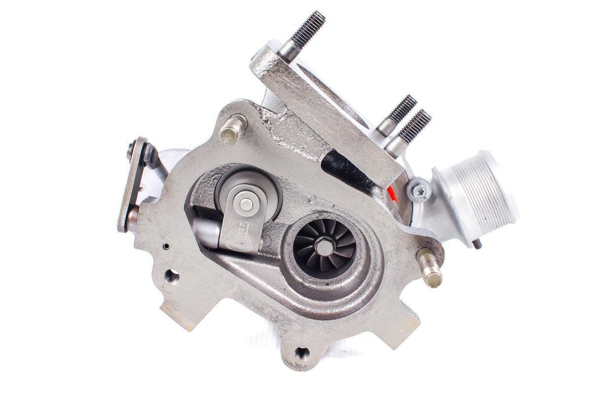 Turbo, układ doładowania numer {numerglowny} po zregenerowaniu w specjalistycznej pracowni regeneracji turbosprężarek przed wysyłką do warsztatu samochodowego