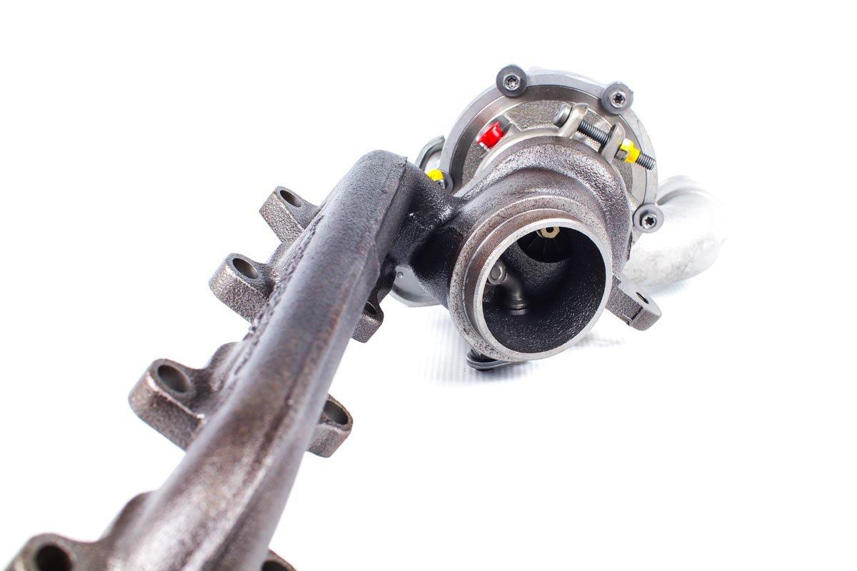 Turbo, układ doładowania numer {numerglowny} po zregenerowaniu w specjalistycznej pracowni regeneracji turbosprężarek przed wysłaniem do zamawiającego