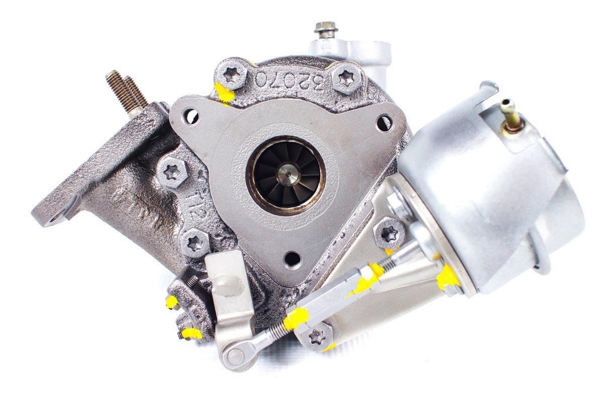 Turbo, układ doładowania numer {numerglowny} po zregenerowaniu w specjalistycznej pracowni regeneracji turbo przed nadaniem do Klienta