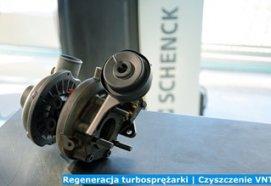 Regeneracja turbosprężarki | Czyszczenie VNT
