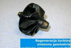 Regeneracja turbiny - zmienna geometria - wymiana zmiennej geometrii