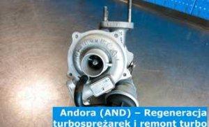 Andora (AND) – Regeneracja turbosprężarek i remont turbo w Andorze – Europa