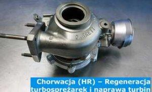 Chorwacja (HR) – Regeneracja turbosprężarek i naprawa turbin w Chorwacji (Hrvatska) – cała Europa