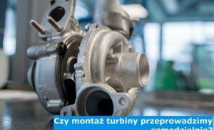Czy montaż  turbo do silnika benzynowego przeprowadzimy samodzielnie?