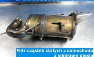Filtry DPF FAP, katalizator SCR - System Denoxtronic - Diesel przyszłości