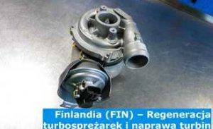 Finlandia (FIN) – Regeneracja turbosprężarek i naprawa turbin w Finlandii (Suomi, Finland) – cała Europa