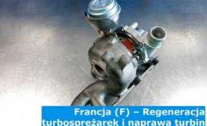 Francja (F) – Regeneracja turbosprężarek i naprawa turbin we Francji – Europa
