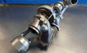 Wadliwa budowa turbosprężarki samochodowej silnik 1.6 HDI