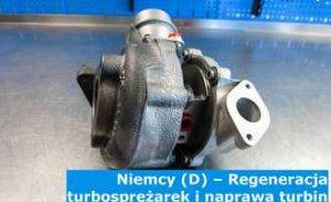 Niemcy (D) – Regeneracja turbosprężarek i naprawa turbin w Niemczech – cała Europa