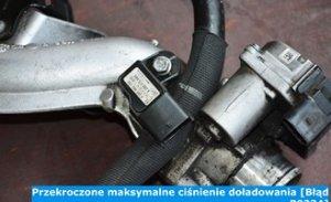 Przekroczone maksymalne ciśnienie doładowania [Błąd P0234]