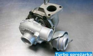 Turbo sprężarka