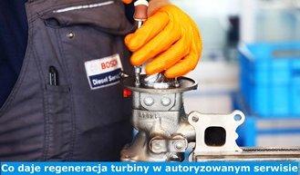 Co daje regeneracja turbiny w autoryzowanym serwisie Bosch?