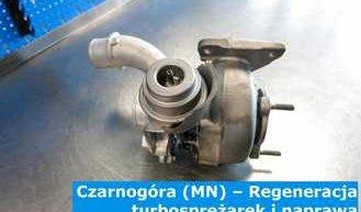 Czarnogóra (MN) – Regeneracja turbosprężarek i naprawa turbin w Czarnogórze (Црна Гора) - Europa