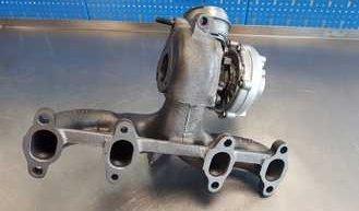 Schemat Turbosprężarki