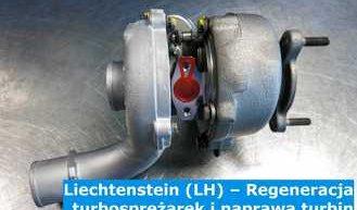 Liechtenstein (LH) – Regeneracja turbosprężarek i naprawa turbin w Liechtenstein – cała Europa