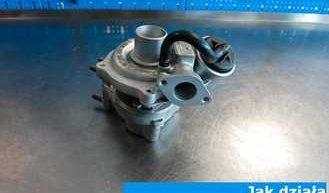 Jak działa turbosprężarka w dieslu?