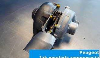 Peugeot - jak wygląda regeneracja turbosprężarki?