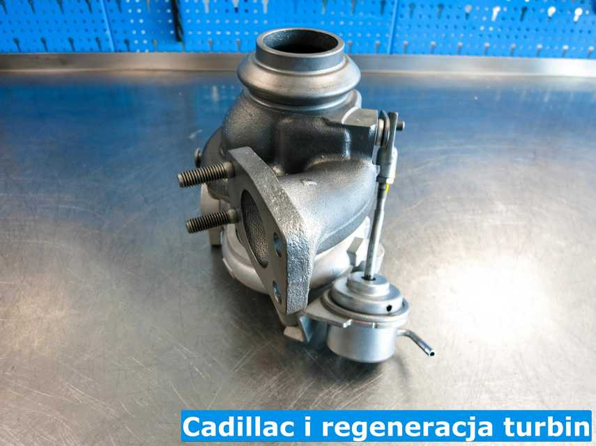 Zregenerowana turbina do Cadillaca