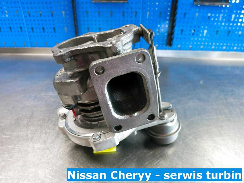 Zregenerowana turbina do Nissana Cherry