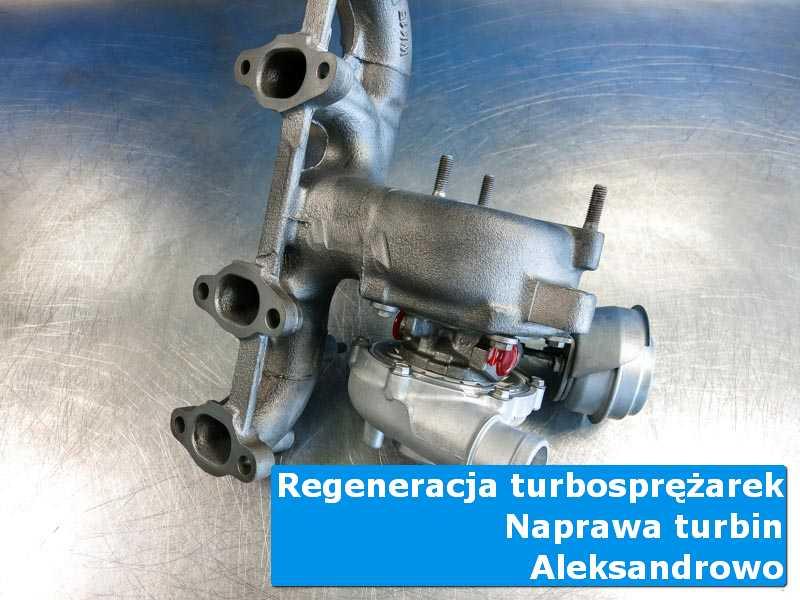 Turbosprężarka po serwisie u fachowców w Aleksandrowie