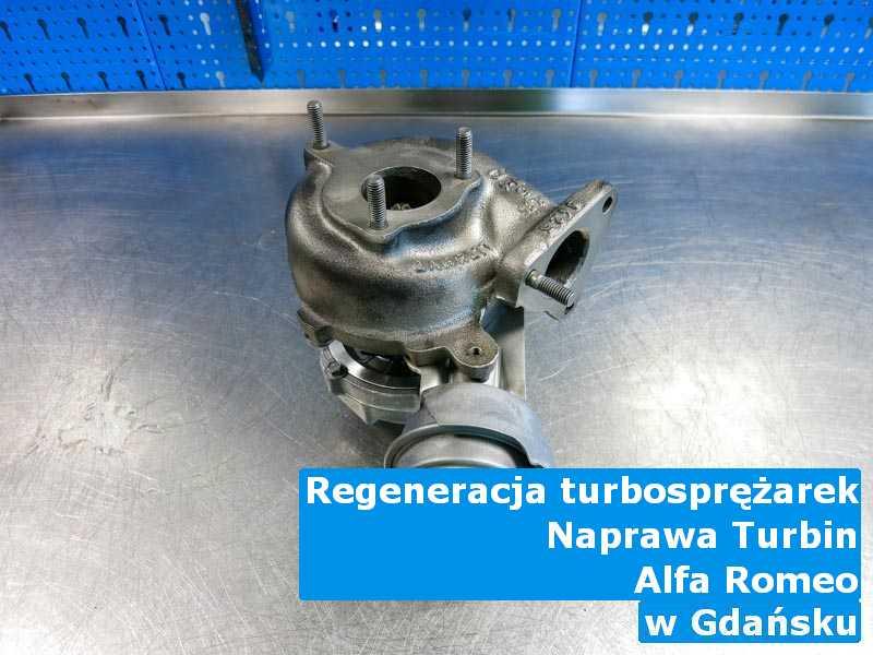 Turbina marki Alfa Romeo dostarczona do pracowni z Gdańska