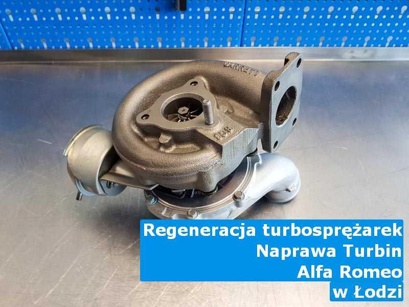 Turbiny z samochodu Alfa Romeo wyważone w Łodzi