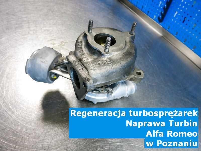 Turbo z samochodu Alfa Romeo po wyważeniu z Poznania