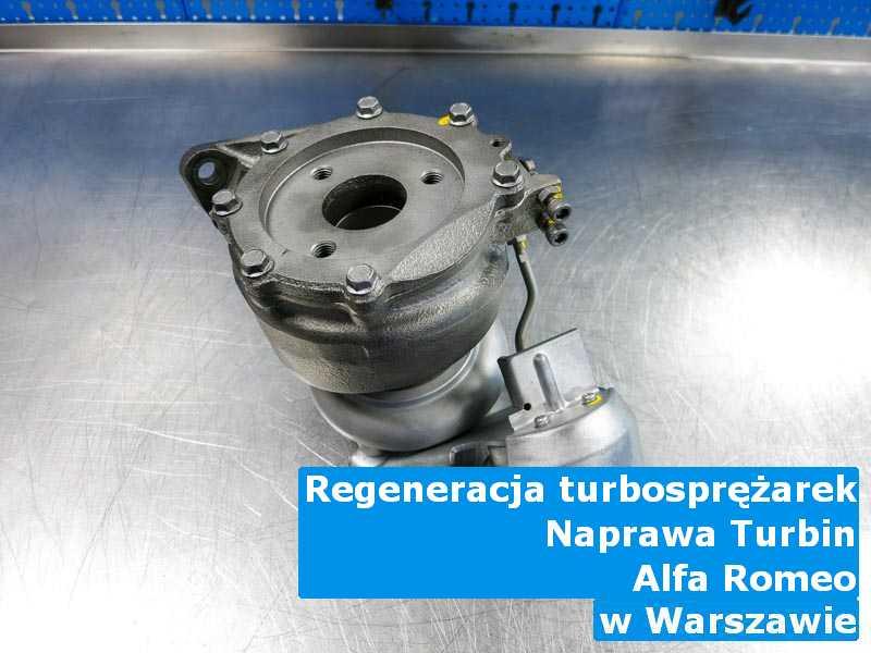 Turbina z samochodu Alfa Romeo zregenerowana pod Warszawą