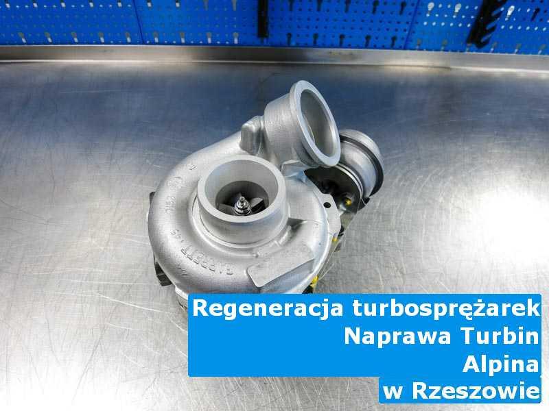 Turbosprężarki z samochodu Alpina wysłane do warsztatu pod Rzeszowem