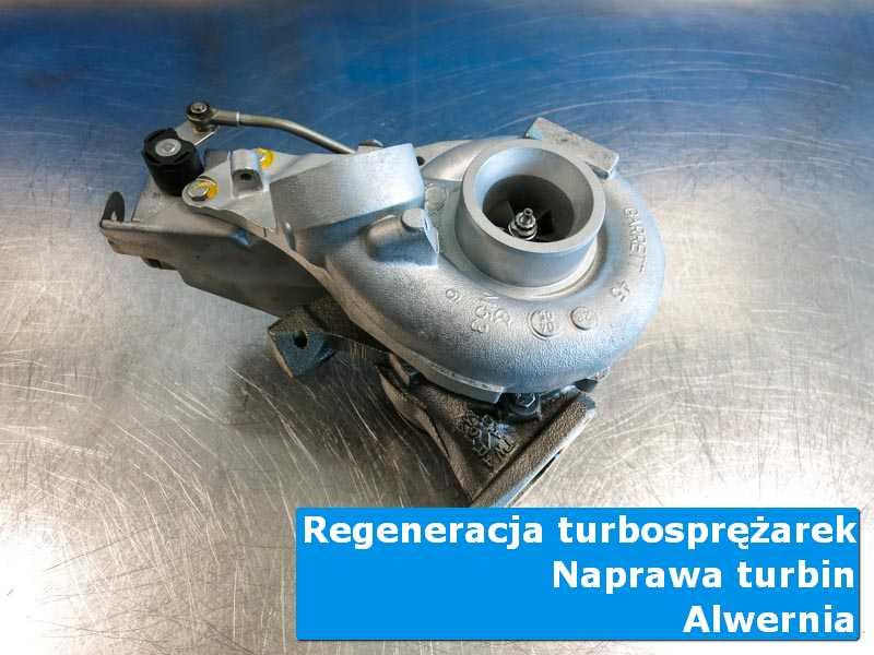 Turbosprężarka po serwisie w laboratorium z Alwerni
