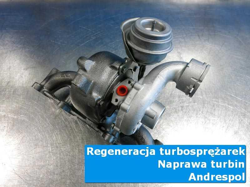 Turbosprężarka po czyszczeniu w profesjonalnym serwisie z Andrespola