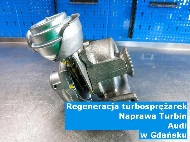 Turbosprężarka marki Audi dostarczona do zakładu regeneracji pod Gdańskiem
