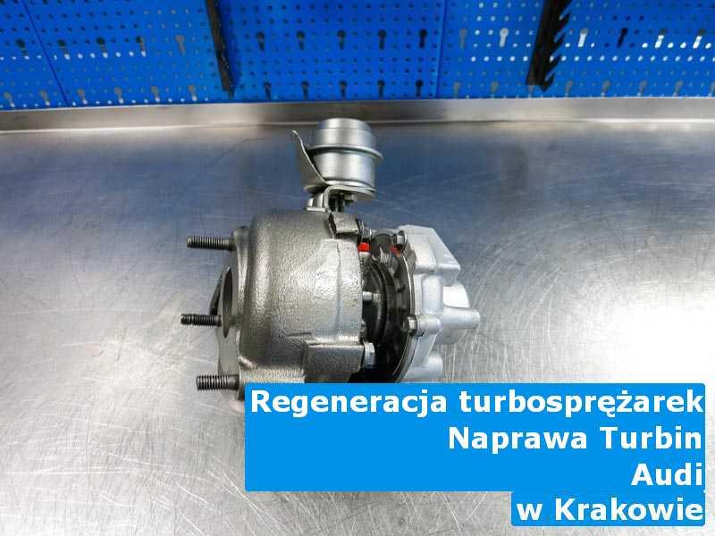 Turbiny z pojazdu marki Audi wysłane do regeneracji z Krakowa