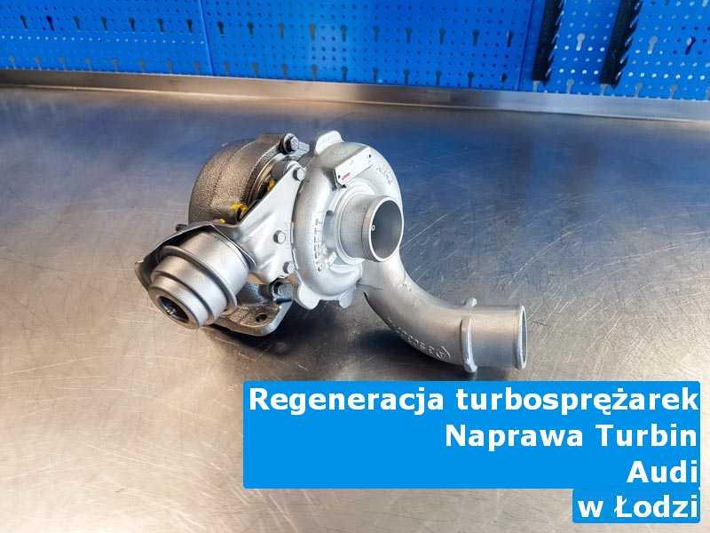 Turbosprężarki z samochodu Audi po wizycie w serwisie w Łodzi