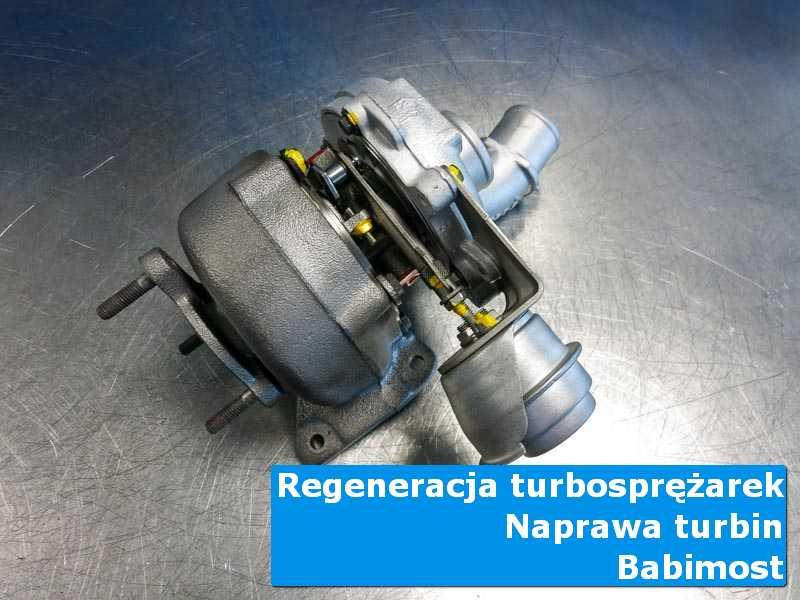 Turbosprężarka po serwisie u specjalistów z Babimostu