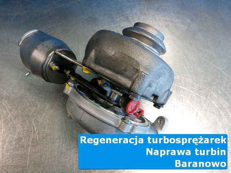 Turbina po wymianie w laboratorium w Baranowie