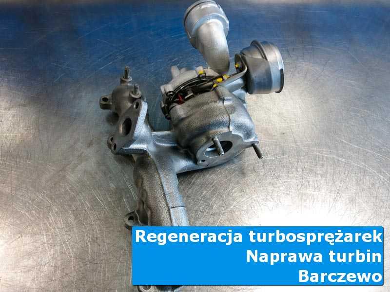 Turbosprężarka po przywróceniu sprawności w autoryzowanej pracowni w Barczewie