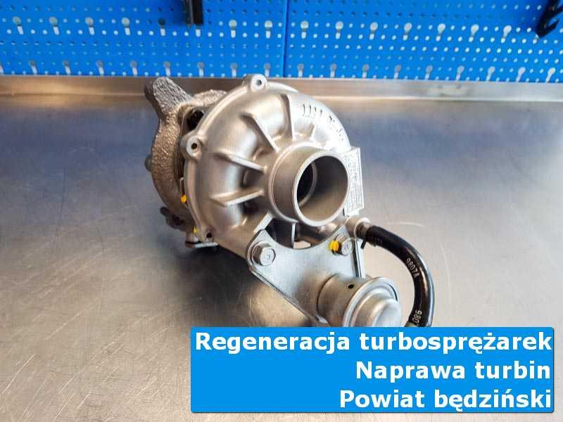 Turbosprężarka po przywróceniu sprawności w autoryzowanej pracowni, powiat będziński