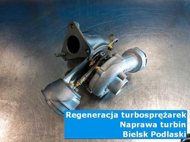 Turbo po demontażu w laboratorium w Bielsku Podlaskim