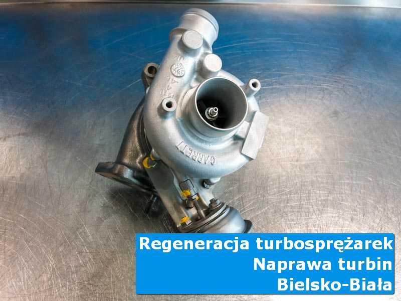 Turbina przed wymianą w autoryzowanym serwisie z Bielska-Białej