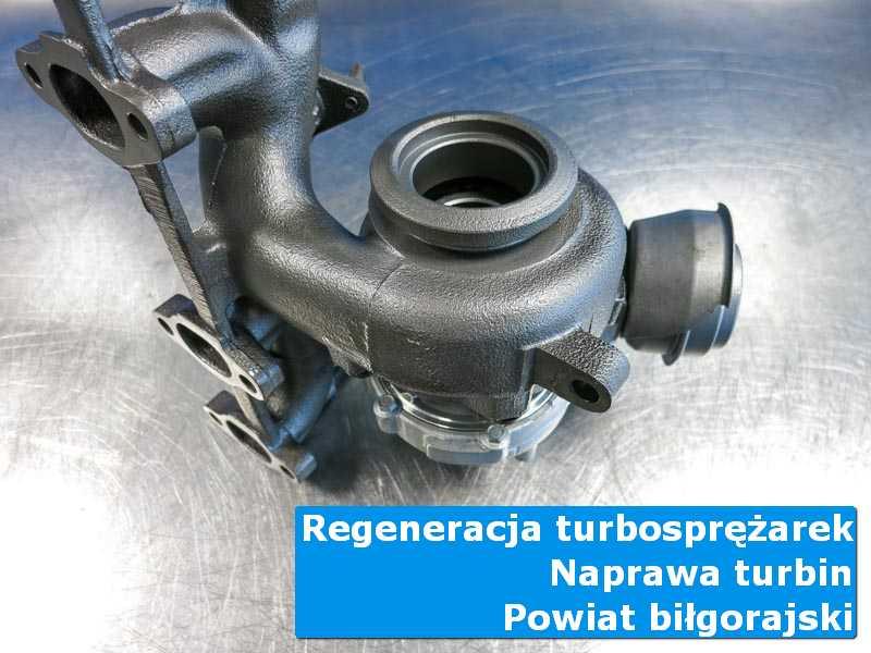 Turbo po naprawie w profesjonalnym serwisie, powiat biłgorajski