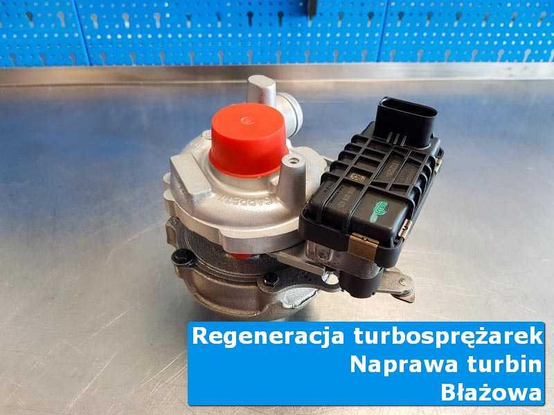 Turbosprężarka po wizycie w ASO w specjalistycznej pracowni w Błażowej
