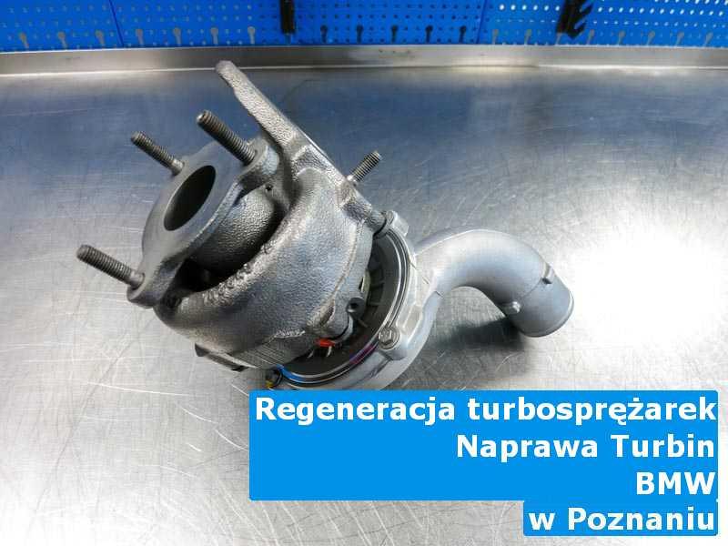 Turbosprężarka z pojazdu marki BMW wyważona w Poznaniu