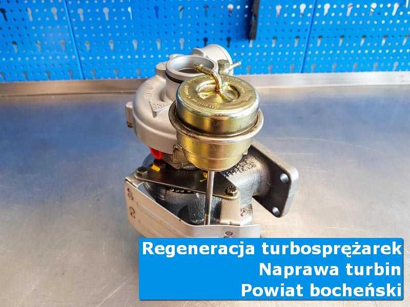 Turbosprężarka po regeneracji u specjalistów, powiat bocheński