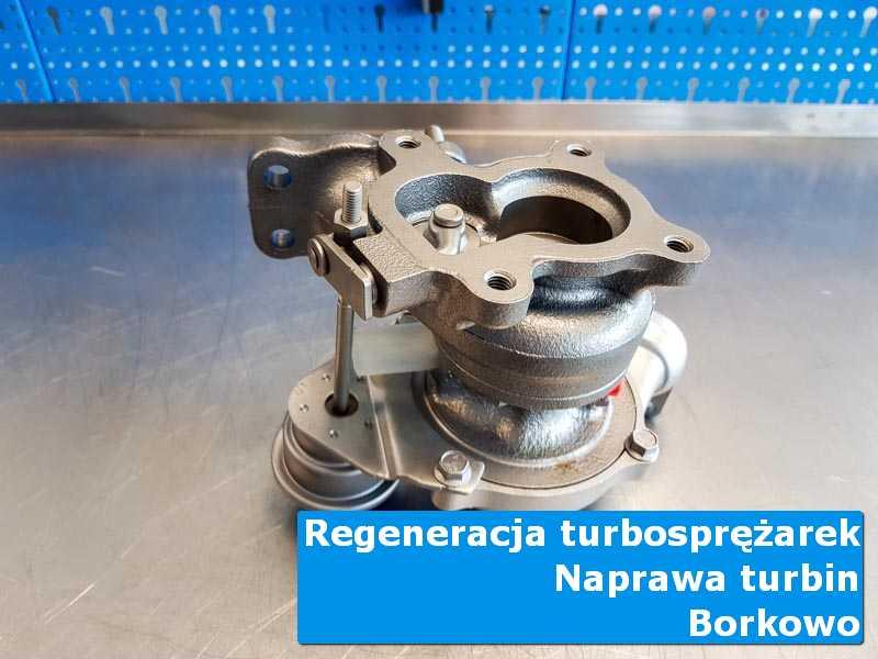 Turbo po regeneracji w autoryzowanym serwisie z Borkowa
