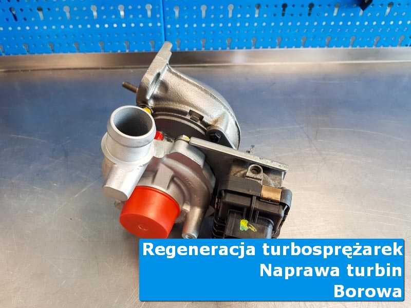 Turbo po naprawie w laboratorium w Borowej